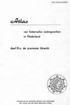 Atlas Historische Vestingwerken Utrecht